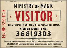 Fantastic Beasts Crimes of Grindelwald Photo Quality Magnet: Visitor Badge