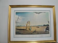 """Salvador Dali """"Savage Beasts In The Desert"""" Little Animal Kingdom Lithograph S/N"""