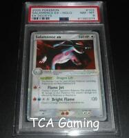 PSA 8 NM-MINT Salamence Ex 103/107 Deoxys ULTRA RARE HOLO Pokemon Card