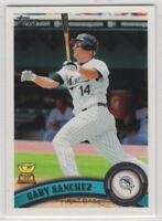 2011 Topps Baseball Florida Marlins Team Set