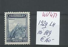Turkey @ 1929  Mi.  889 € 160.00  MLH @ @Tur.10