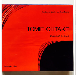 Tomie Ohtake Autografato Signed Ex Libris 1983 Mendonca Arte contemporanea
