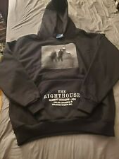 The Lighthouse large hooded sweatshirt A-24 horror