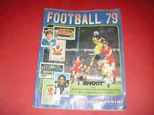 1979 FOOTBALL PANINI STICKER ALBUM 100% COMPLETE