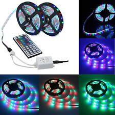 New listing 10M 3528 Smd Rgb Flexible Led Light Strip 600Leds +44 Key Ir Remote Controller