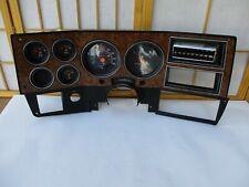 90-91 Chevy GMC Truck OEM ELECTRONIC Gauge Cluster Speedometer WOODGRAIN BEZEL
