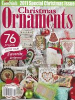 Christmas Ornaments Magazine Winter Santa Claus Religious Wreaths Trees Snowman