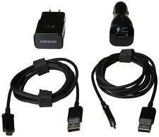 Samsung Adaptive Fast Car & Home Charger + 2 Micro USB Cables (100% Authentic)