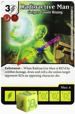 126 RADIACTIVE MAN: Geiger Count Rising -Rare- CIVIL WAR Marvel Dice Masters