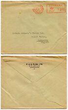 DENMARK 1935 METER FRANKING PRINTED ENVELOPE P + S PLUM LTD