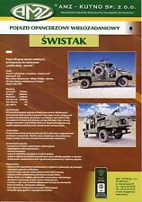 AMZ Swistak catalogue brochure military