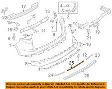 FORD OEM 15-18 Edge-Bumper Trim-Reflector FT4Z15A448B