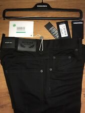 65% OFF DSQUARED2 Black Jeans W34 IT50 stretch denim Not Cool Guy Skater