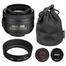 Nikon 35mm F/1.8 g Af-s Dx Lente para cámaras SLR Digitales Nikon