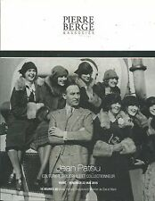 BERGE JEAN PATOU COLLECTION Couture Fashion Scent Perfume Bottle Catalog 2015