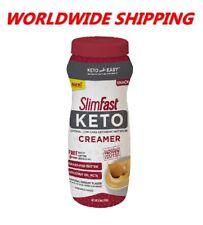 Slim Fast Keto Ketogenic Creamer 6.6 Oz WORLDWIDE SHIPPING