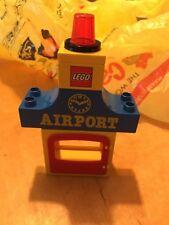 LEGO Duplo 2450 Airport Building Lot 1990 Legos Duplos 26 Piece Replacement Set