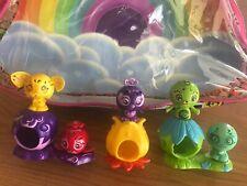 Zoobles Happitats Set SPRING TO LIFE Rainbow Pop Open Action Toys 4+