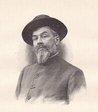 Portrait Louis Abel Truchet Versailles Peintre Peinture Post Impressionnisme