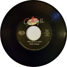 """7"""" Stan Steele Best Seat In Town/There's been a train Gallery Country USA 1988"""