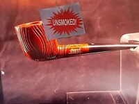 VINTAGE MEDICO NOS UNSMOKED NEW VINTAGE IMPORTED BRIAR PIPE WITH 21 FILTERS -10