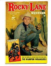 Rocky Lane Western #36    Fawcett 1952