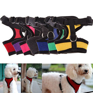 Adjustable Pet Control Harness Collar Safety Strap Mesh Vest For Dog Puppy Cats