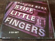 STIFF LITTLE FINGERS - All The Best 2X CD Punk USA