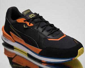 Puma Porsche Legacy Low Racer Motorsport Men's Black Carrot Lifestyle Sneakers