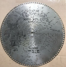 15 1/2� Regina Music Box Disc Record, Anna Waltz, #1047