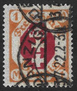 DANZIG 1921 Coat of Arms 1 MK (GBX)