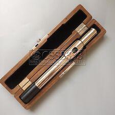 Upscale Wooden Flute Head Case strong Beautiful Nice Black walnut 1 pcs