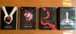 Saga Completa 4 libri Twilight/New Moon/Eclipse/Breaking Dawn 1 ed. Fazi