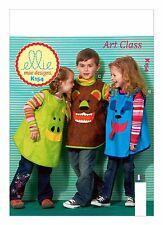 Kwik Sew SEWING PATTERN K154 Childrens Art/Painting/Craft Aprons/Smocks