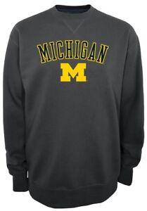 "Michigan Wolverines NCAA Champion ""Safety"" Men's Pullover Crew Sweatshirt"