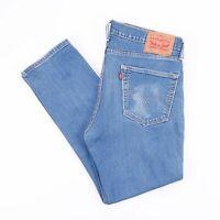 Vintage LEVI'S 511 Slim Straight Fit Men's Blue Jeans W36 L27