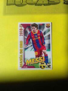 Lionel MESSI FC Barcelona 2010-11 PANINI #5