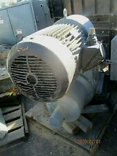 Reliance Electric Motor P32g6532b G1 Gw Amp Reeves Gear Drive 50hp184 1 Ratio