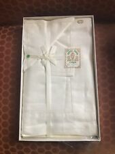 Vintage Royal Irish Linen Tablecoth & Napkin Never Used