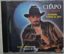El Chapo de Sinaloa - Quisieron Tumbar Al Jefe - CD NEW! SEALED! Free Shipping!