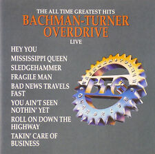 CD-Bachman-Turner Overdrive-The All Time Greatest Hits Live - #a1663