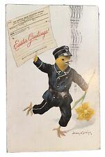 Vintage Easter Postcard signed Jenny Nystrom 1910