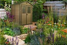Keter 17202393 6x5 feet Garden Shed - Brown