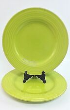 Pottery Barn Sausalito Ridge Green Dinner Plates 2