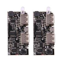 Dual USB 5V 1A 2.1A Mobile Power Bank 18650 Battery Charger PCB Module LCD Board
