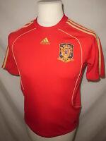 Maillot de football vintage équipe d' Espagne Adidas Rouge Taille 12 ans à - 55%