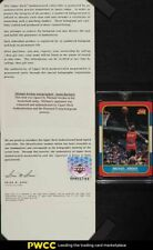1986 Fleer Basketball Michael Jordan ROOKIE RC AUTO #57 UDA COA, Re-Colored