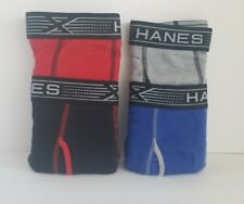 HANES X-Temp Boxer Briefs Large size NEW