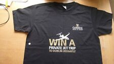 """""""Guinness"""" L. """"Win a Private Jet Trip To Dublin"""" T/Shirt.New.Fruit of the Loom"""