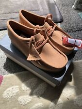 Clarks Originals Wallabees New With Box Sandstone